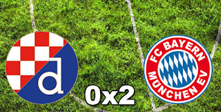 Dinamo Zagreb 0-2 Bayern