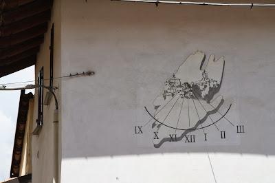Sundials near La Morra, Italy