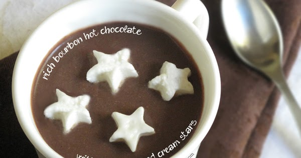 Bespangled Jewelry: Rich Bourbon Hot Chocolate with Boozy ...