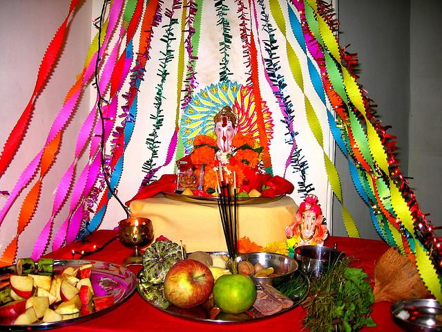 Ganpati Decoration At Home Ideas God Wallpapers