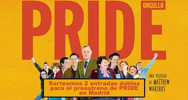 Concurso preestreno Pride (Orgullo)