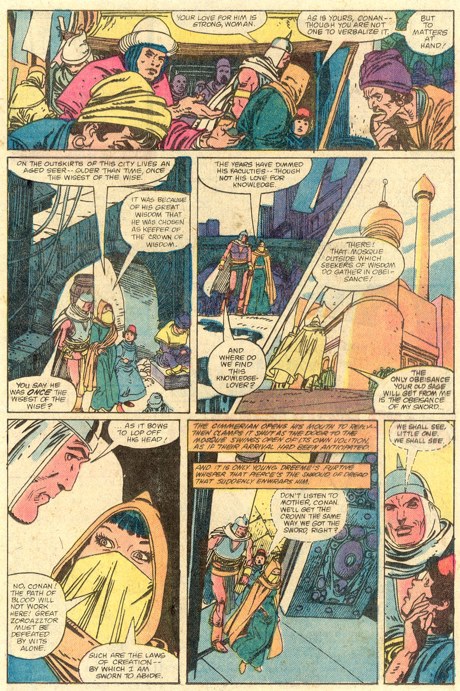 Conan the Barbarian (1970) Issue #129 #141 - English 14