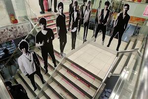 Pusat Penjualan Official Produk SM Entertainment di Taipei
