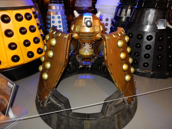 Dalek Emperor scale model Doctor Who