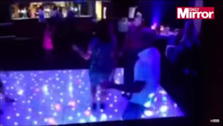 Man after trying to impress girls on the dance floor poos his pants off