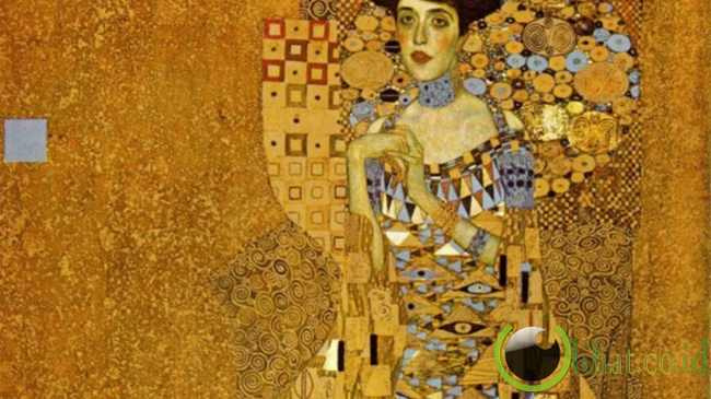 Portrait of Adele Bloch- Bauer oleh Gustav Klimt