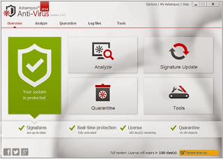 Ashampoo Antivirus 2014 Serial Key For 6 Months Free