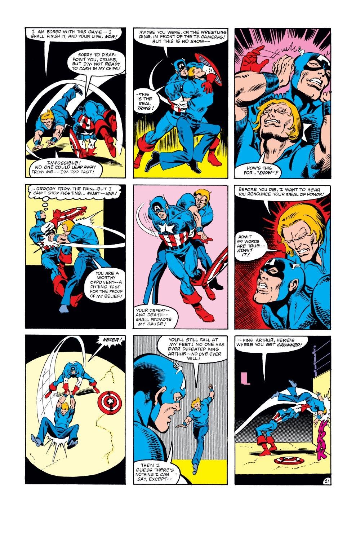 Captain America (1968) Issue #271 #187 - English 22