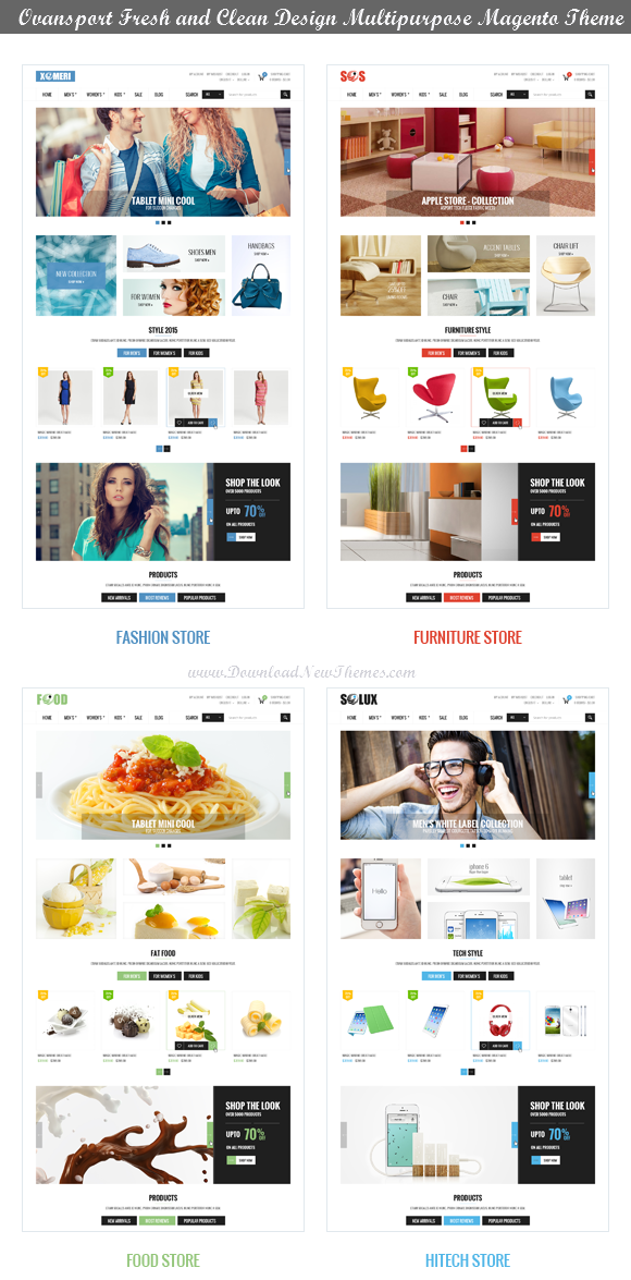 Best Multipurpose Magento Theme 2014