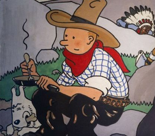 photos of million dollar vintage tintin comic book covers