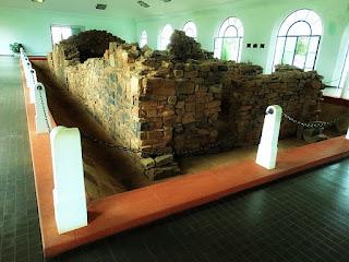 Ruínas da casa do General San Martín, em Yapeyú, Argentina.