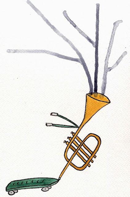 c'est un jazz triste qui te roule dessus