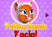 Talking Angela Facial