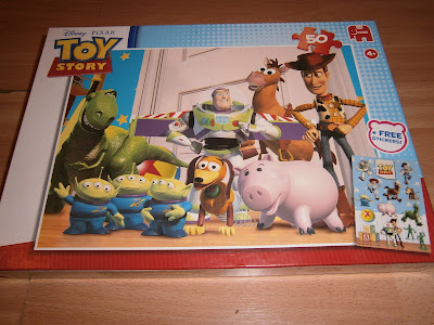 Childrens toy story jigsaw puzzle 50 pieces all the characters