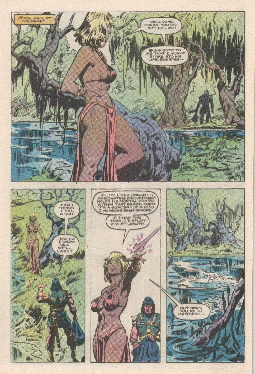 Conan the Barbarian (1970) Issue #180 #192 - English 12