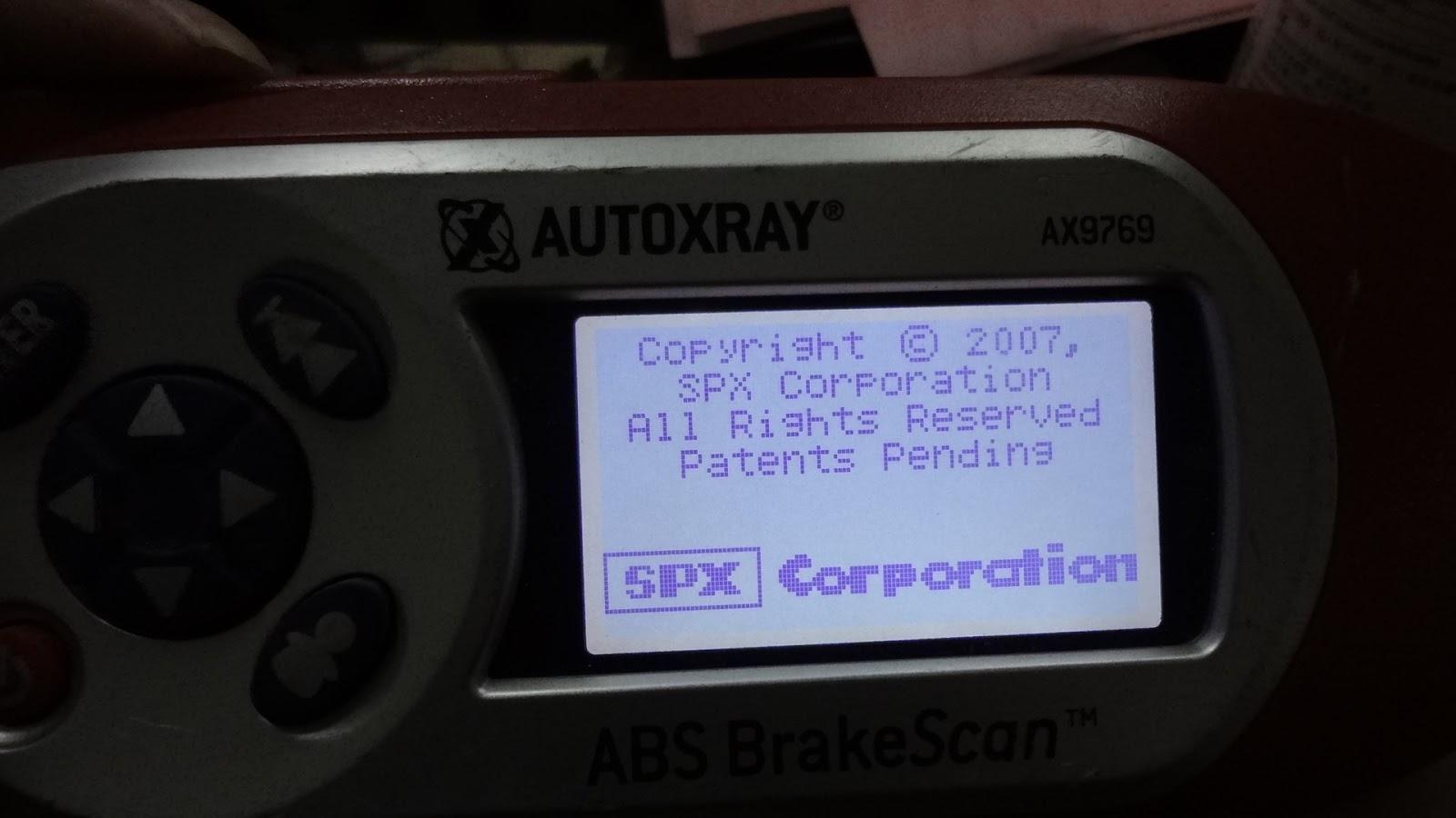 abs brake scan tool