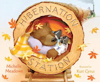 bookcover of Hibernation Station by Michelle Meadows