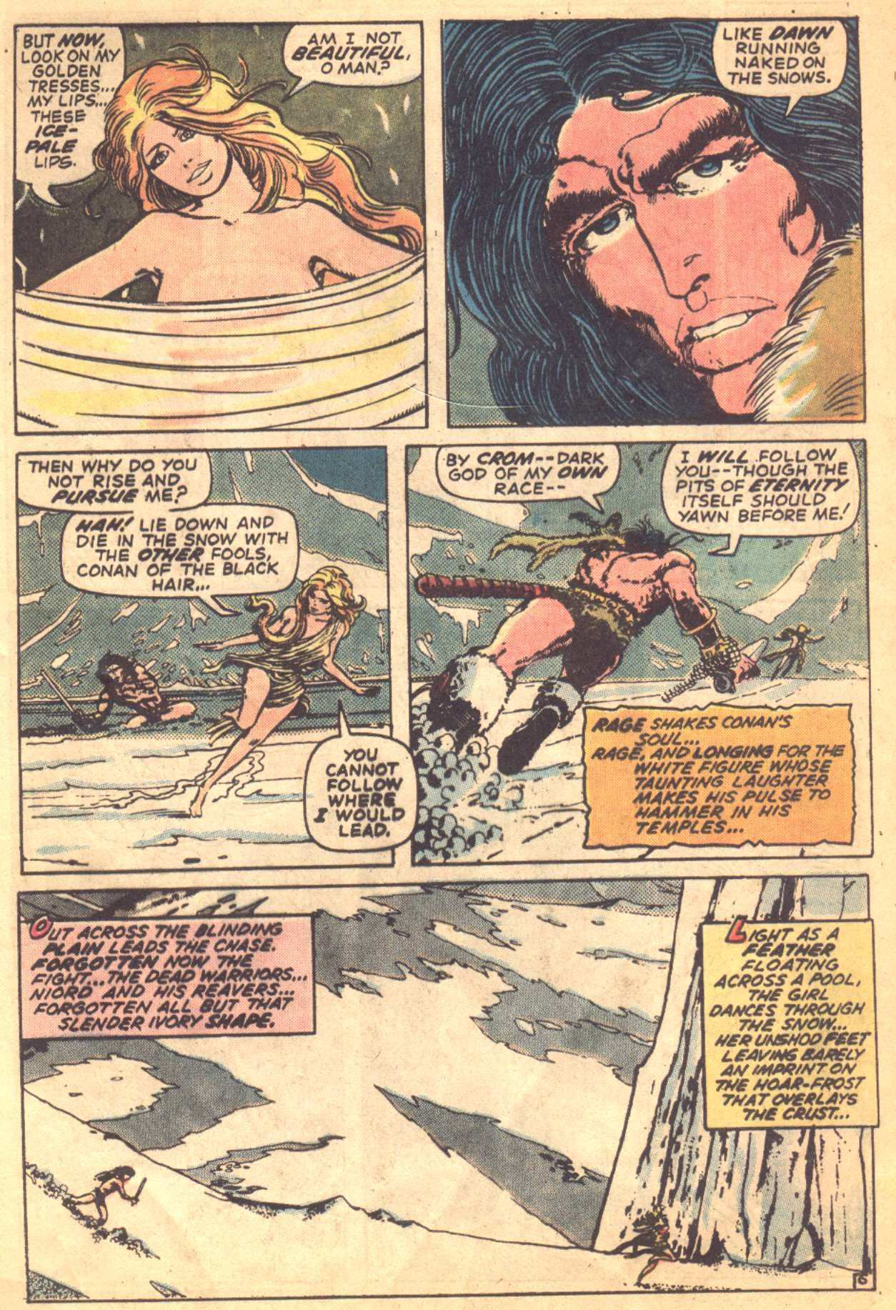 Conan the Barbarian (1970) Issue #16 #28 - English 6