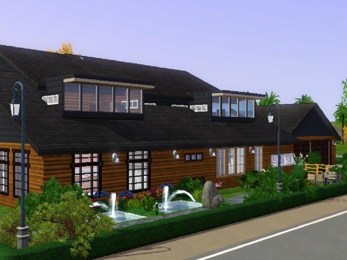 Koalafolio Sims3 House LIVING DESIGN KOLN HOUSE THE SIMS 3