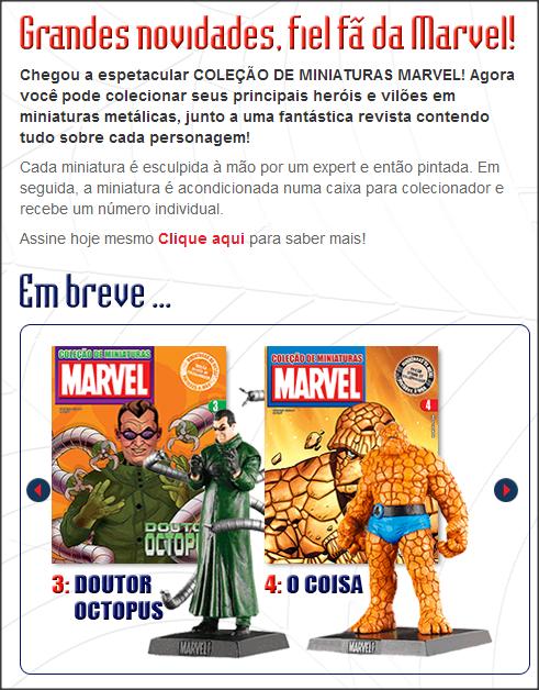 Miniaturas Marvel Eaglemoss