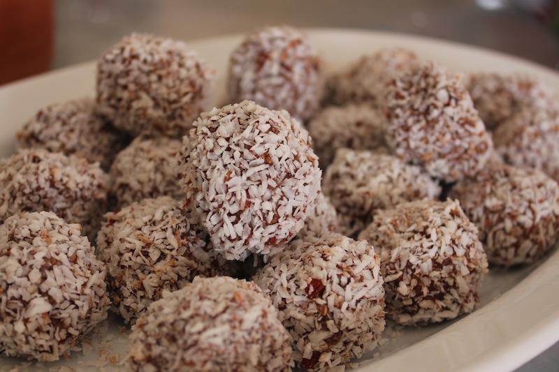 Goji Berry and Maca Raw Truffles