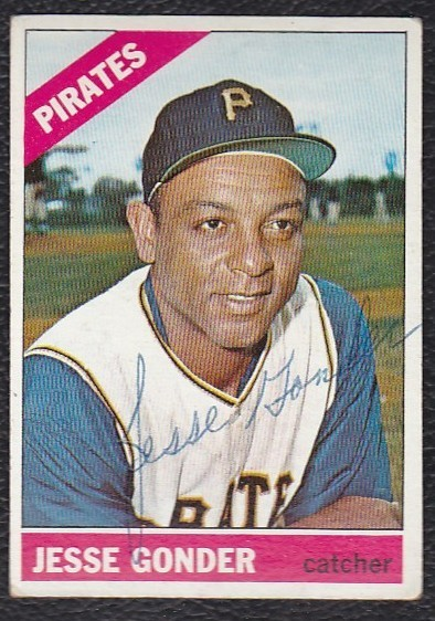 Jesse Gonder 1966 baseball card