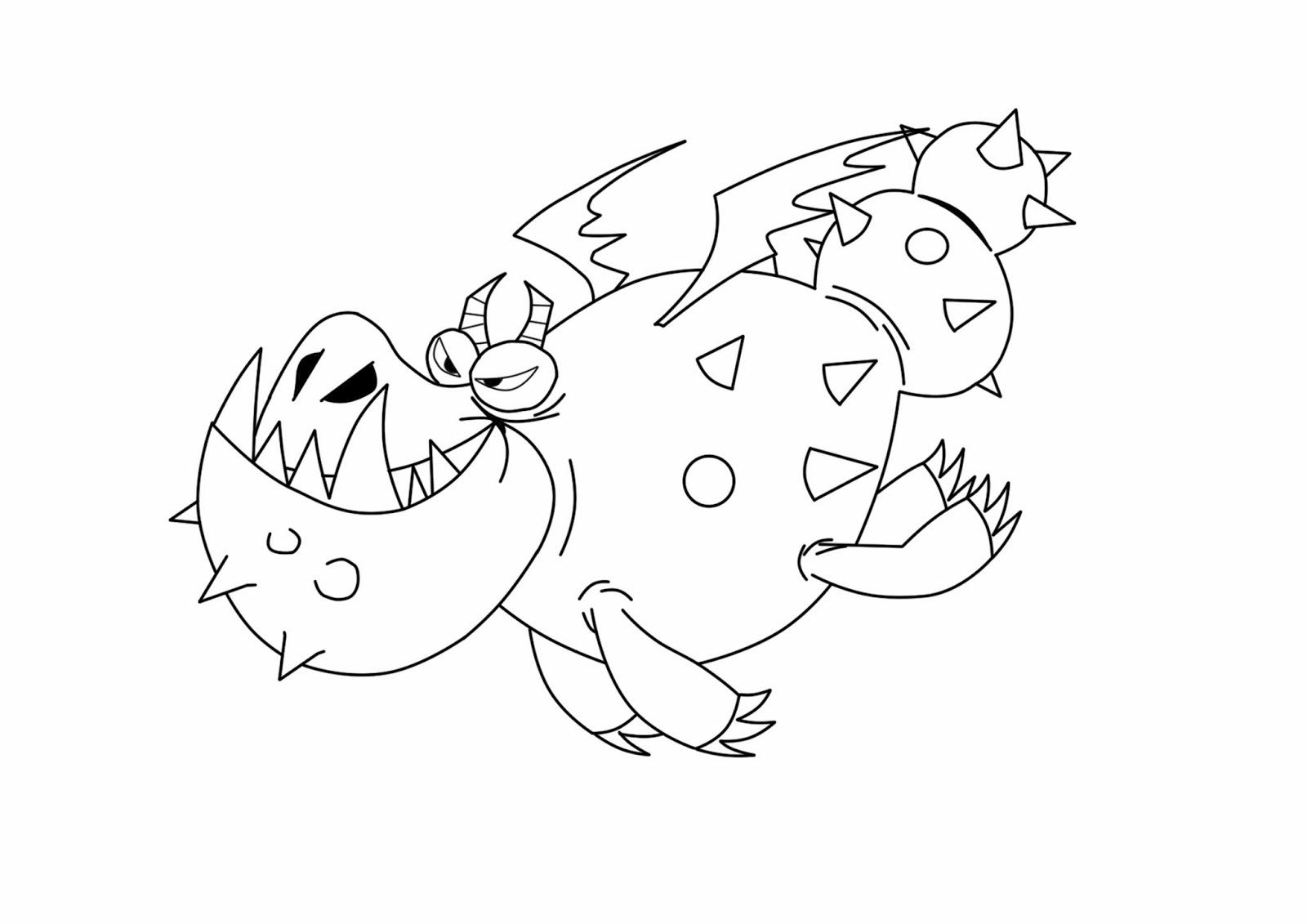 Раскраски о драконах