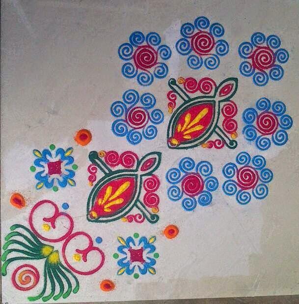 Yojna Kalaskar Kolam Designs 14