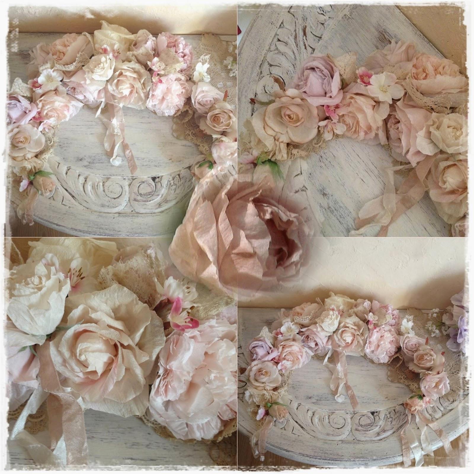 Vintage Paper Roses 2015