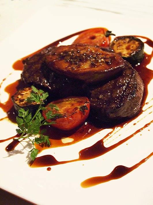 Ezo venison with foie gras sauté - 29 Twenty Nine, Tokyo
