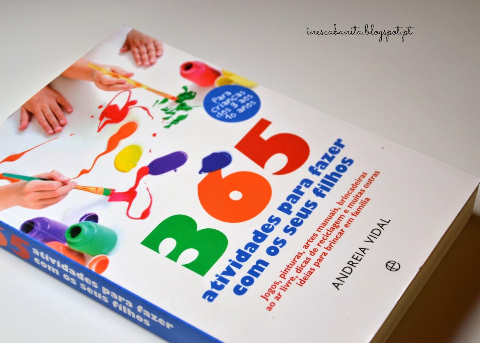 livro 365 actividades fazer seus filhos