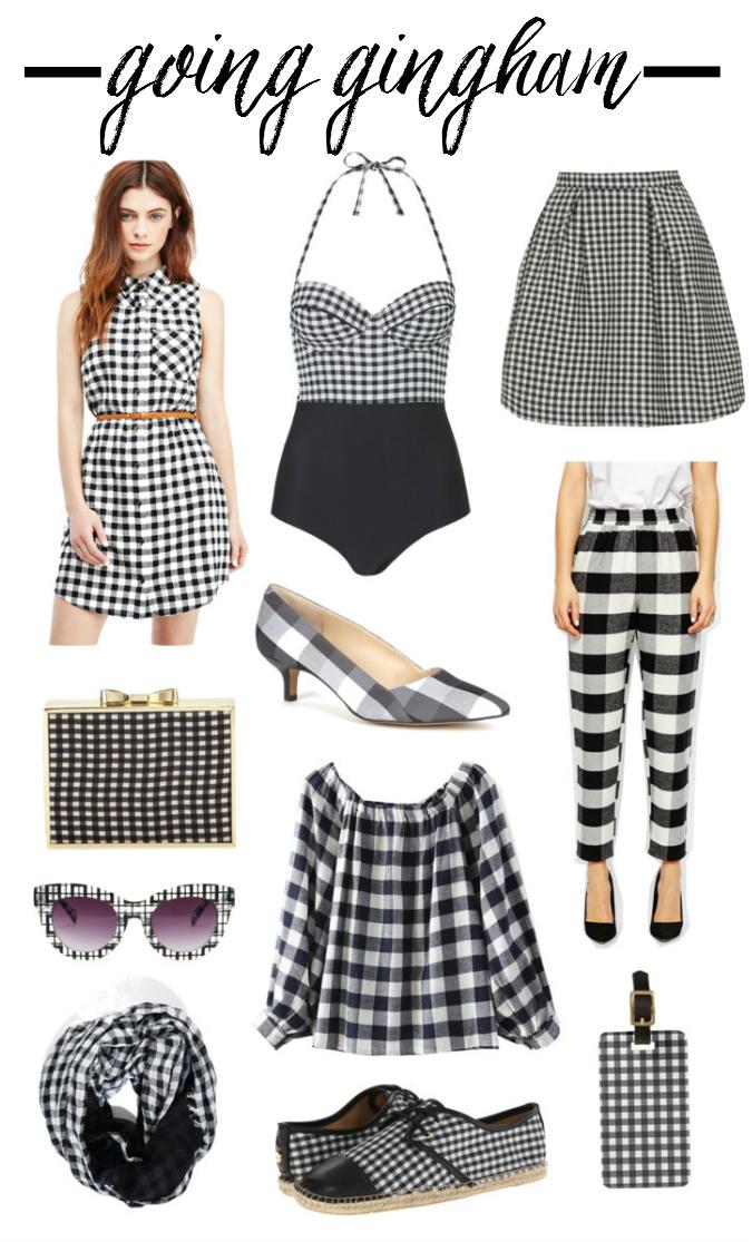 gingham spring trend 2015