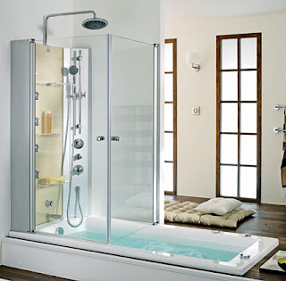Furniture Interior Design The Latest Trend A Tub Shower