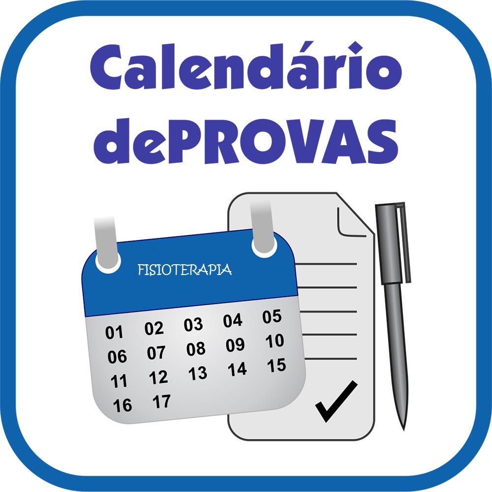 Calendário de Provas