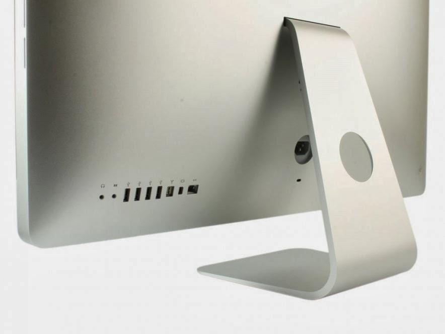 задняя сторона с портами моноблока Apple iMac 27 ME089
