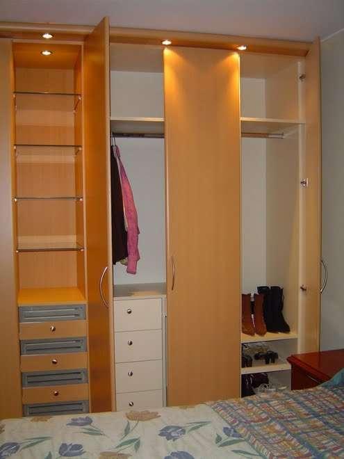 Rinnovare closet en melamina for Closet melamina
