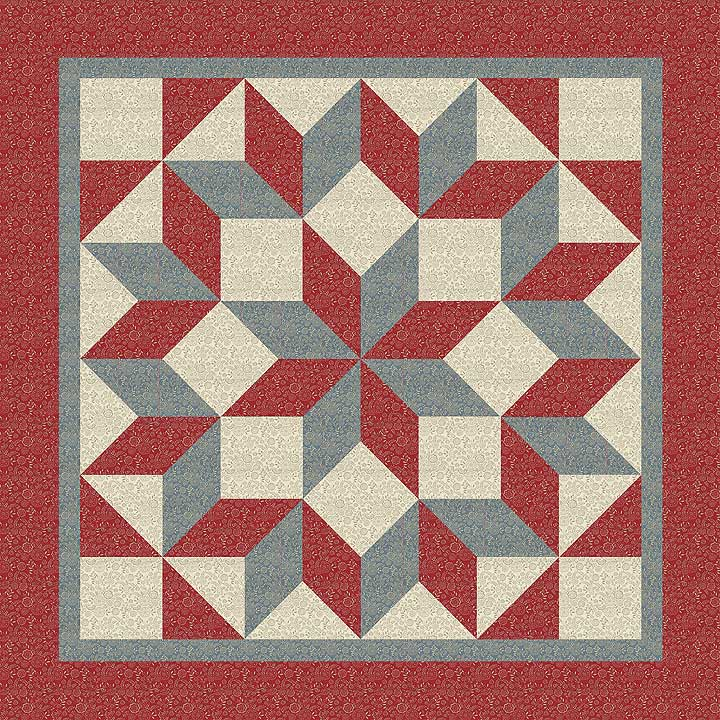 The warp and the weft moda friendship quilt along and - Le petit jardin quilt pattern calais ...