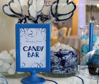 Candy Bar niebieski
