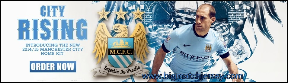 Banner Jersey Manchester City Terbaru Official 2014 - 2015