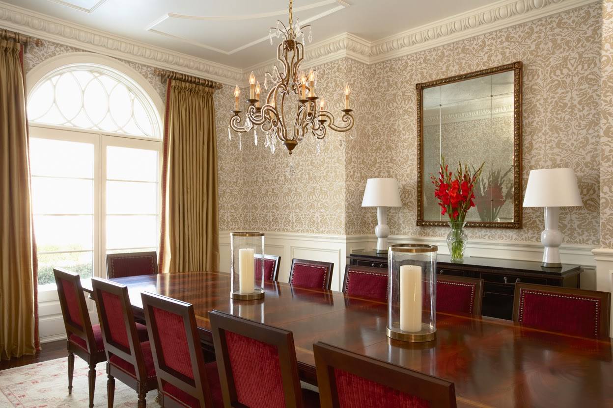 wallpaper dinding untuk ruang makan