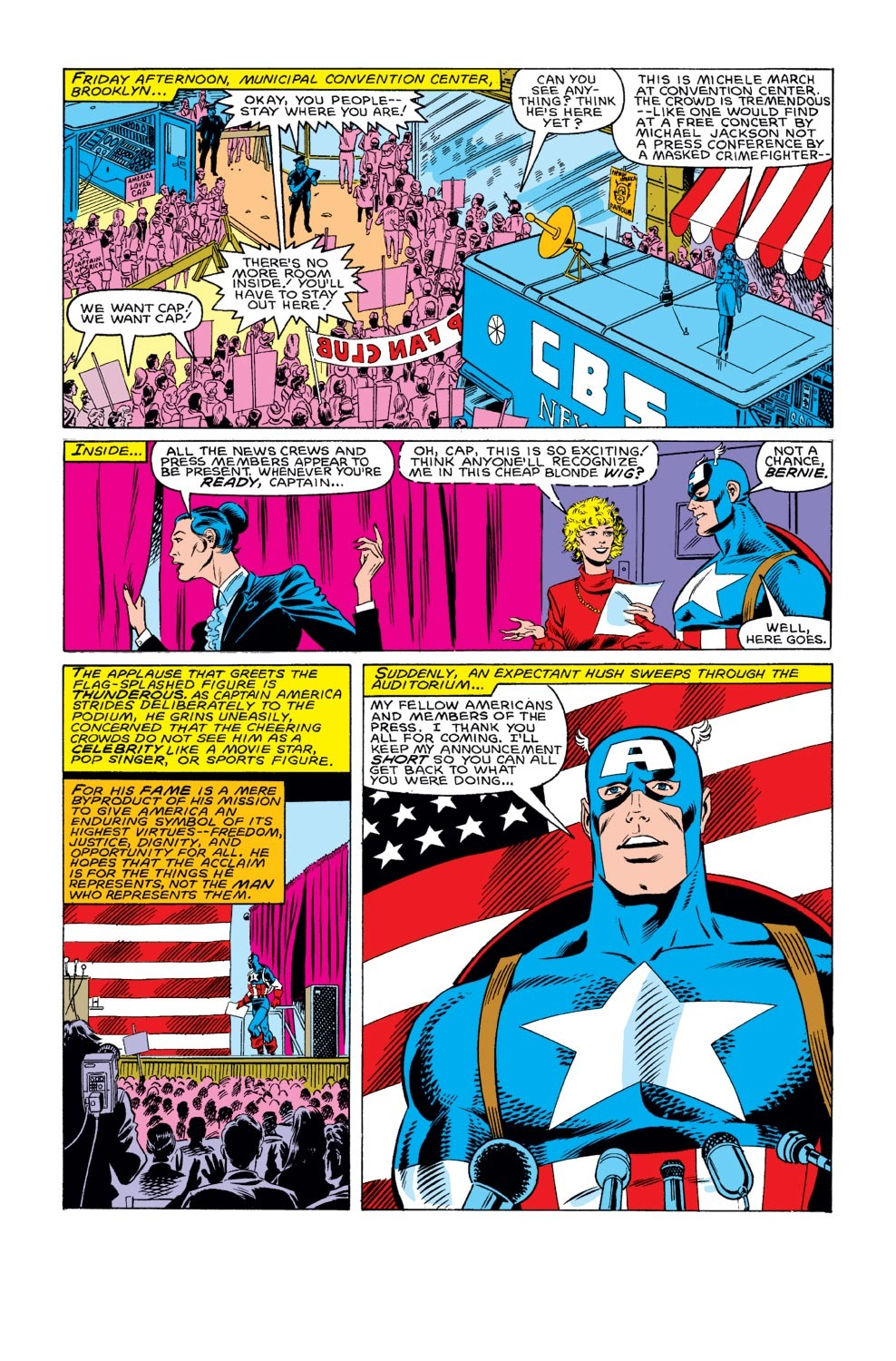 Captain America (1968) Issue #312 #240 - English 14
