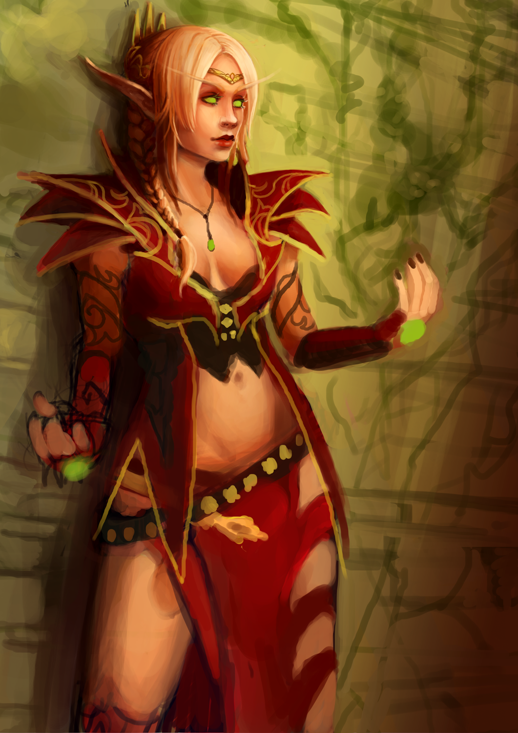 Hot blood elf and night elf female  erotic videos