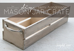 DIY MASON JAR CRATE
