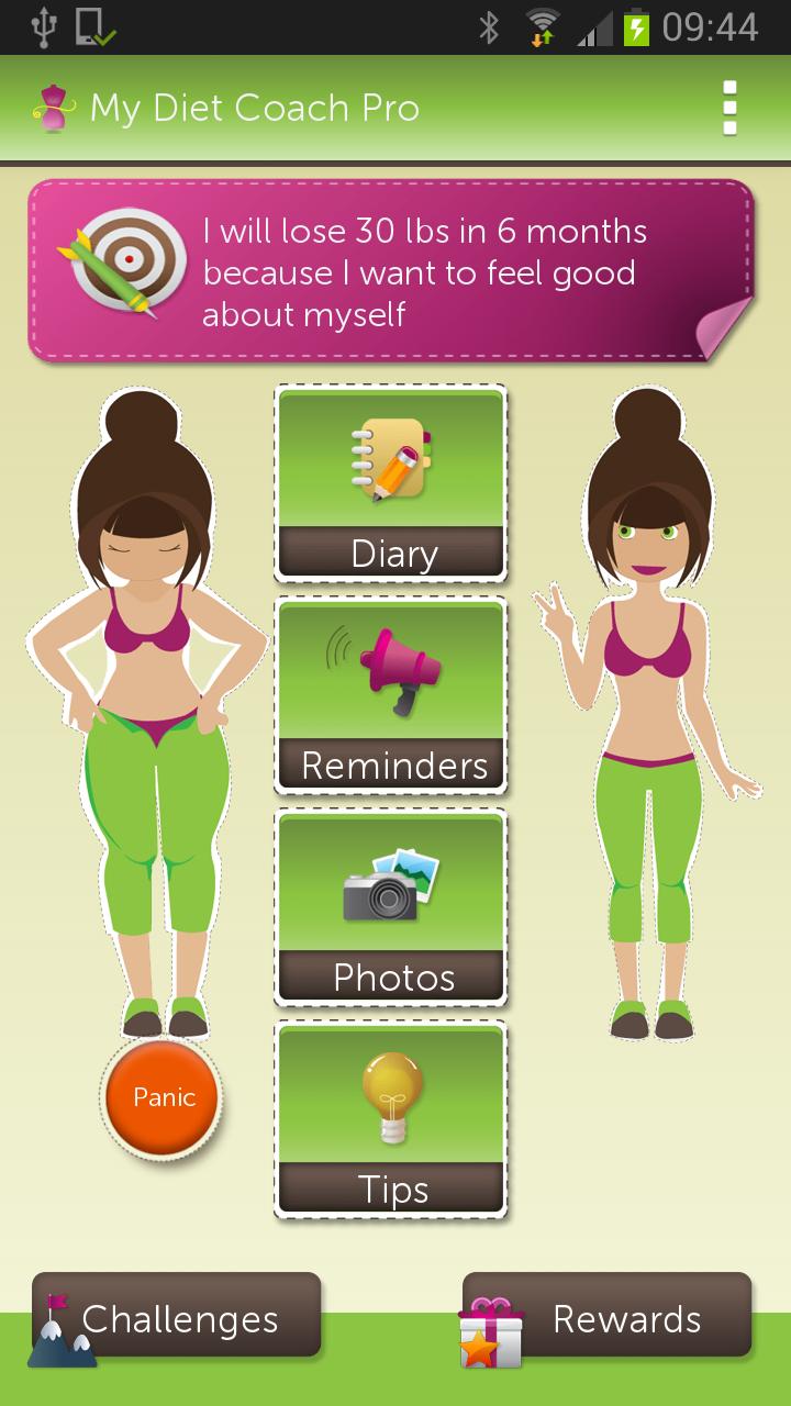Diet Pro app