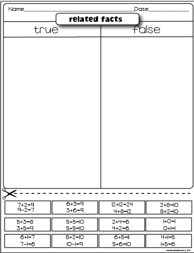 math worksheet : freebies : Cut And Paste Addition Worksheets