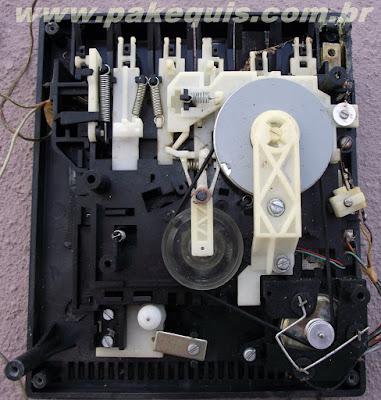 Mecânica do tape deck Philips 2572