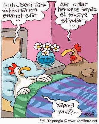 beni türk doktorlarına emanet edin