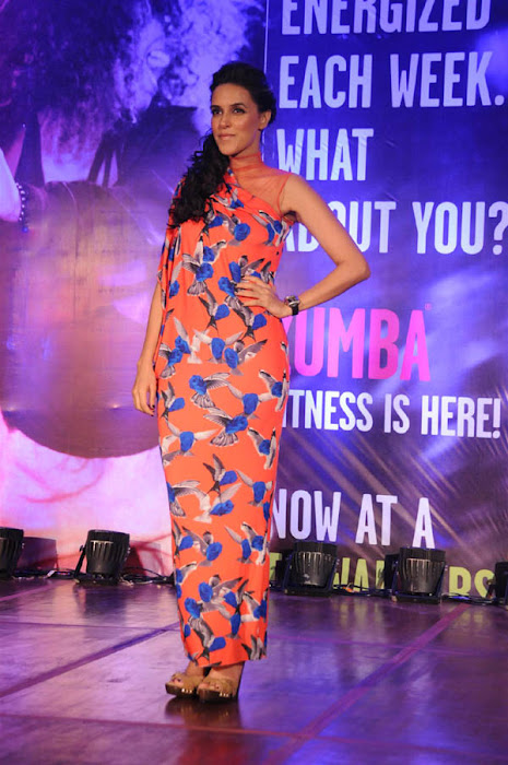 neha dhupia launches zumba fitness sessions photo gallery
