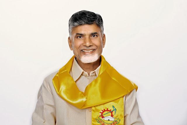 Telugu Desam Party National Leader Chandra Babu Naidu