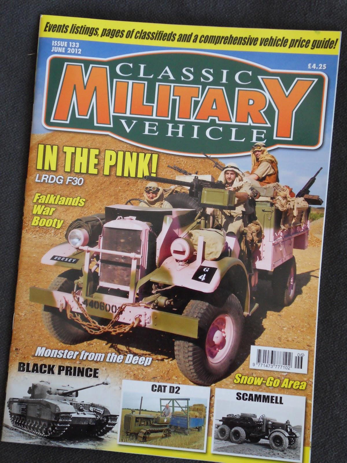 Amphibious Warfare: A Magazine; Classic Military Vehicle, June 2012
